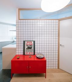 See How Three Colors Of Grout Were Used With The Tiles In This Apartment