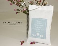 Mothers Hold... Lavender Bag from www.snowgooseuk.com