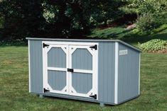 trash storage shed