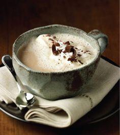 Warm Cozy Drinks: Mocha latte √