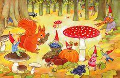 Kabouters herfst - Geertje van der Zijpp