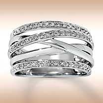 Right hand White Gold & Diamond Ring