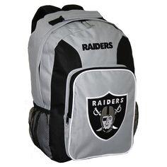 Oakland Raiders Drawstring Backpack   Oakland Raiders, Drawstring ...