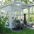 Are you planing make some a backyard shed? Here we present it to you 50 Best Stunning Backyard Storage Shed Design and Decor Ideas. Outdoor Rooms, Outdoor Gardens, Outdoor Living, Garden Buildings, Garden Structures, Shed Design, Garden Design, Backyard Storage Sheds, Greenhouse Shed