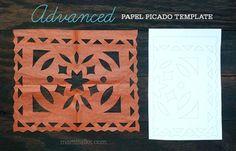 Papel Picado Pattern templates - Buscar con Google
