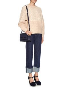 Textured wool-blend sweater | See By Chloé | MATCHESFASHION.COM