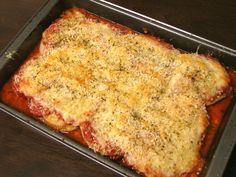 Delectably Mine: Vegetable Parmesan