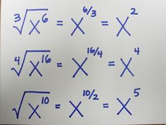 Fraction Exponents. Easy.