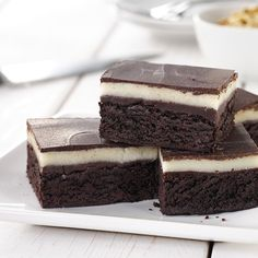 Chocolate and marzipan brownies are great as a weekend treat or something different to try for Easter baking. The chocolate and almond flavours work together really well, and these are really easy to make.