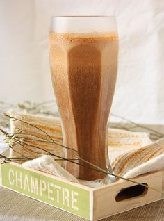 Nigella Lawson's Chocolate Espresso smoothie. Curious...