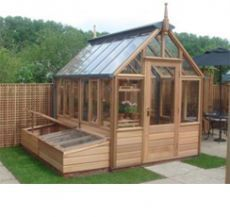 The Rosemoor with Coldframes