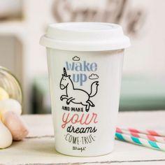 Mug trop cute à emporter partout ! Pour tous ceux qui aiment le café et les licornes Une jolie maxime à suivre chaque jour 100% essentiel