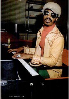 Stevie Wonder, 1974.