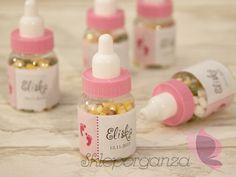 buteleczka smoczek z cukierkami