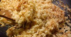 """""""Διαβάστε περισσότερα"""".  ΑΤΖΕΜ ΠΙΛΑΦΙ ΣΥΣΤΑΤΙΚΑ 350 ΓΡΑΜΜΑΡΙΑ ΡΥΖΙ ΚΑΡΟΛΙΝΑ 1 ΛΕΜΟΝΙ 1 ΚΡΕΜΜΥΔΙ ΨΙΛΟΚΟΜΜΕΝΟ 2 ΦΩΛΙΕΣ... Desert Recipes, Deserts, Rice, Cooking, Food, Kitchen, Essen, Postres, Dessert Recipes"""