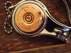 Bullet Jewelry, Nail clipper, shot gun shell, key ring, bottle opener, nail file