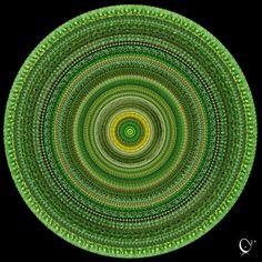 Green woven basket
