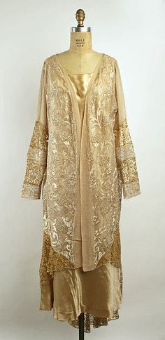 Lace Evening Coat, ca. 1920s  Callot Soeurs  via The Met