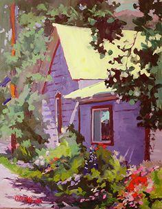 Alley Garden Crested Butte by Deborah McAllister