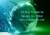 10 key trends to watch for 2014 from GlobalTrends.com