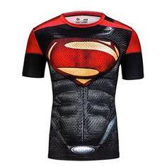 Polyester Spandex Material Superman T-Shirt For Men. #Mentshirt #ShopOnline #MehdiGinger