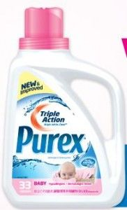 NEW Purex Baby Detergent   Enter to WIN a FREE Bottle