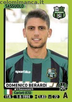 Calciatori 2014-2015: Fronte Figurina n. 464 Domenico Berardi
