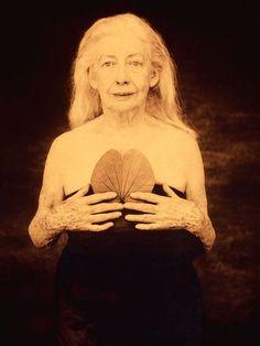 "Joyce Tenneson  Deirdre Sullivan  From the ""Wise Women"" Portfolio"