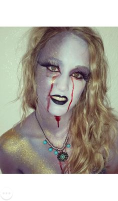 Fantasy makeup! Fairytale gone wrong Halloween