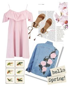"""I miss spring💕🌼"" by malany1 ❤ liked on Polyvore featuring Boohoo, Hollister Co. and William Stafford"