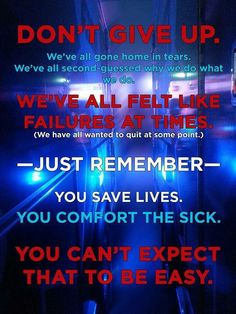 We all need mental first aid at some stage,whether it's just talking to a colleague about a difficult job or actually going to seek professional help, we all need it. Don't leave it until it's too late. Ems Quotes, Nurse Quotes, Funny Quotes, Motivational Quotes, Life Quotes, Paramedic Student, Firefighter Paramedic, Firefighter Quotes, Emergency Medical Technician