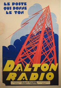 Buy online, view images and see past prices for Huge Original Dalton Radio Advertising Poster. Radio Advertising, Advertising Poster, Lps, Vinyl Poster, Tv Set Design, Museums In Nyc, Pub Vintage, Radio Wave, Antique Radio