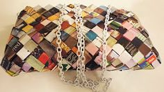 A Matter Of Style: DIY Fashion: DIY lab:The candy wrappers purse