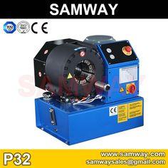 "Samway P32 hydraulic hose crimping machine , hose crimper up to 2"" 4SP hydraulic hose ."
