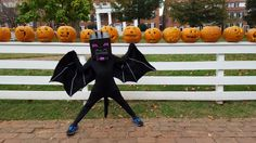 My son asked me can I make him Minecraft Ender Dragon costume. Here's the result. Halloween 2016, Halloween Kids, Halloween Crafts, Halloween Decorations, Halloween Party, Kids Costumes Boys, Halloween Costumes For Girls, Diy Costumes, Costume Ideas