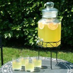 drinkstuff - Dispensador de bebidas (cristal, incluye soporte, 5,6 l): Amazon.es: Hogar