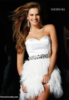 I want something like this but with a multicolored sash instead of the silver! So fun! Perfect for a Vegas wedding!