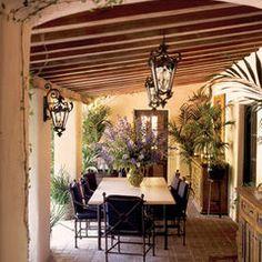 mediterranean patio by Capitol Lighting