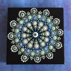 Muted Colors Mandala Painting...