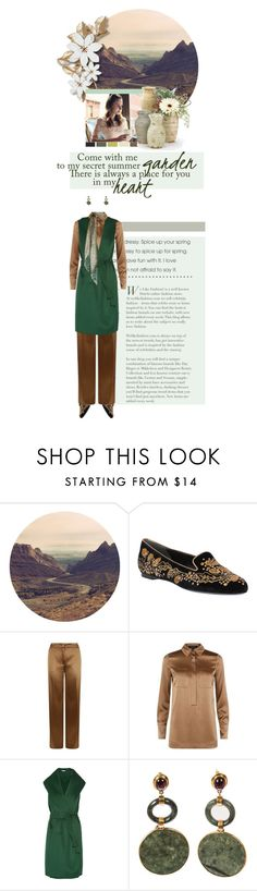 """""""Looking for Your Name"""" by alexvishnevskaya ❤ liked on Polyvore featuring Alexander McQueen, ESCADA, Oscar de la Renta and Yves Saint Laurent"""