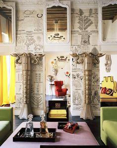 * Le Fox: {obsessed} Interior Designer Vincent Darré