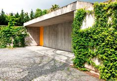 Exterior of Lisbon villa designed by the acclaimed Portuguese architect Bak Gordon