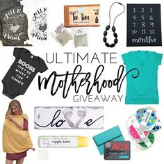 Giveaway time! Weve teamed up with 10 amazing shops to bring you the Ultimate Motherhood Giveaway! One lucky mum will win some of the best items for pregnancy breastfeeding your new little one!  Its super easy to enter all you have to do is: 1. Like this post 2. Follow all accounts in the loop (listed below)(we will check!) 3. Tag a friend or 20 who you would love to win this giveaway! 4. Bonus Entry: Find us on Facebook to enter over there too! (all shops to follow: @mumberryfit…