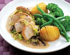 Chicken and Mushroom Bake recipe from Food in a Minute