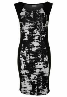 Wickelkleid schwarz jersey