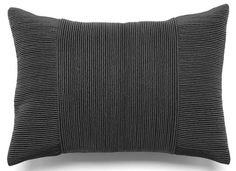 The Tessa Pleated Pillow - Charcoal from Urban Barn is a unique home décor item. Urban Barn carries a variety of Cushions & Throws and other Accents furnishings.