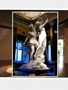 SALA 5. AUTOR:  Gian lorenzo Bernini TÍTULO: «Apolo y Dafne »  AÑO: 1625 Técnica: Escultura en mármol Medidas: 243 cm altura