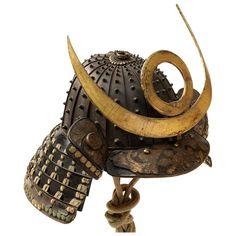 Samurai Weapons, Samurai Helmet, Samurai Armor, Arm Armor, Japanese Mythology, Japanese Warrior, Space Fashion, Armor Concept, 18th Century