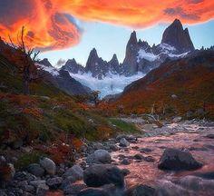 Hermosos glaciares en Argentina