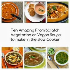 Vegetarian Soups to Make in the Slow Cooker